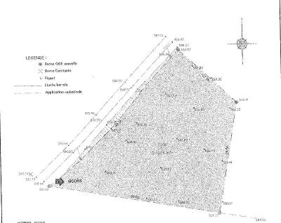 Terrain a batir a vendre Maussac 19250 Correze 1976 m2  18900 euros