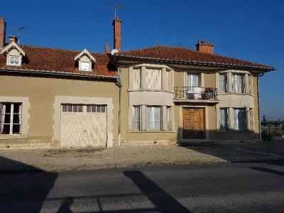 Maison a vendre Jussecourt-Minecourt 51340 Marne 9 pièces 98000 euros