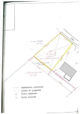 Terrain a batir a vendre Médis 17600 Charente-Maritime 1377 m2  204347 euros