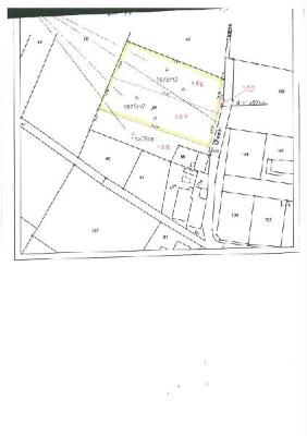 Terrain a batir a vendre Épargnes 17120 Charente-Maritime 1875 m2  47700 euros