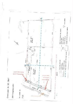 Terrain a batir a vendre Le Chay 17600 Charente-Maritime 1081 m2  84800 euros