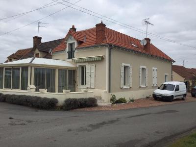 Maison a vendre Le Châtelet 18170 Cher 150 m2 5 pièces 135272 euros