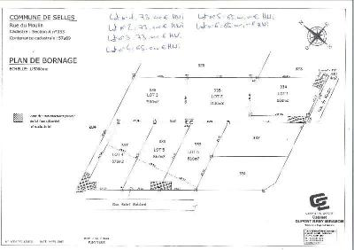 Terrain a batir a vendre Pontfaverger-Moronvilliers 51490 Marne 876 m2  65000 euros