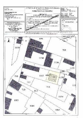 Terrain a batir a vendre Moeuvres 59400 Nord 222 m2  33000 euros