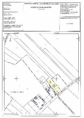 Terrain a batir a vendre Trescault 62147 Pas-de-Calais 2080 m2  55000 euros
