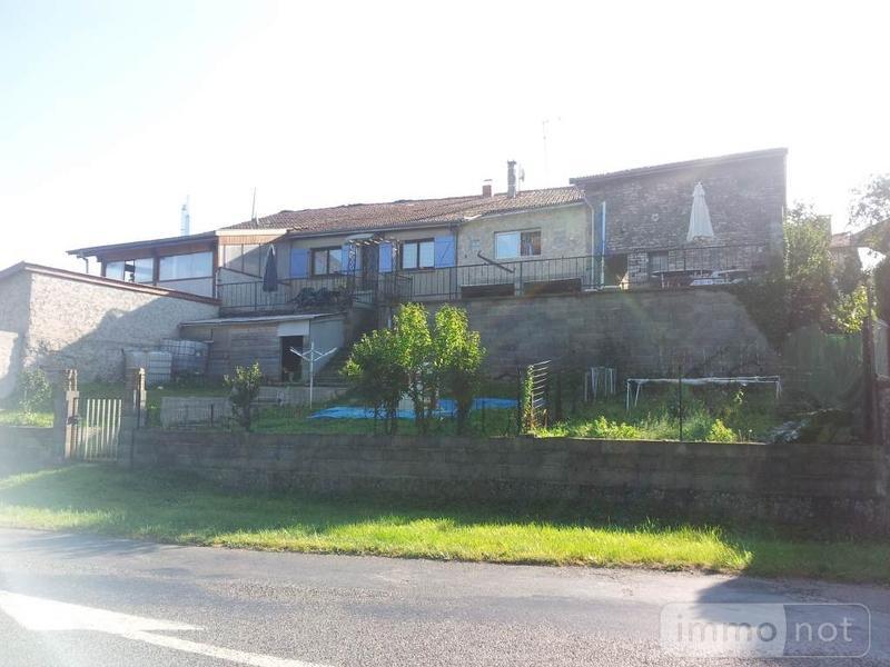 achat maison a vendre courcelles sur blaise 52110 haute marne 140 m2 7 pi 232 ces 78500 euros